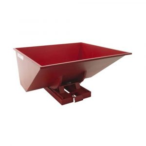 Fork Mounted Tipping Skip For sale