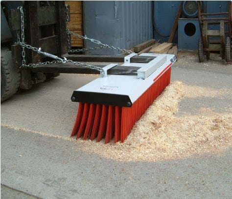 Forklift Pro Sweeper Attachment