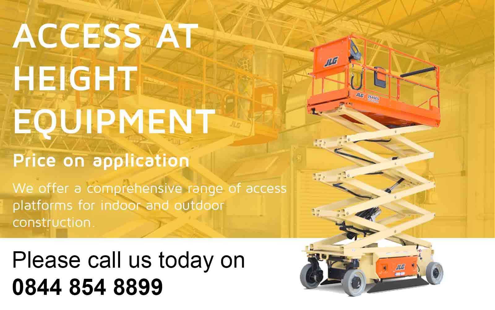 JLG Access Height Equipment for sale