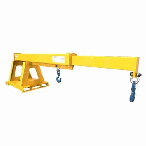 Raised Height Extendable Jib attachment