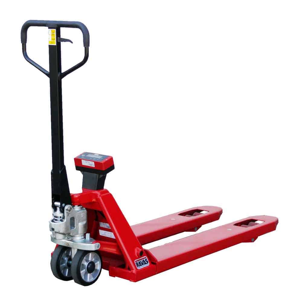 Ravas 1100 Weighing Hand Pallet Truck for sale