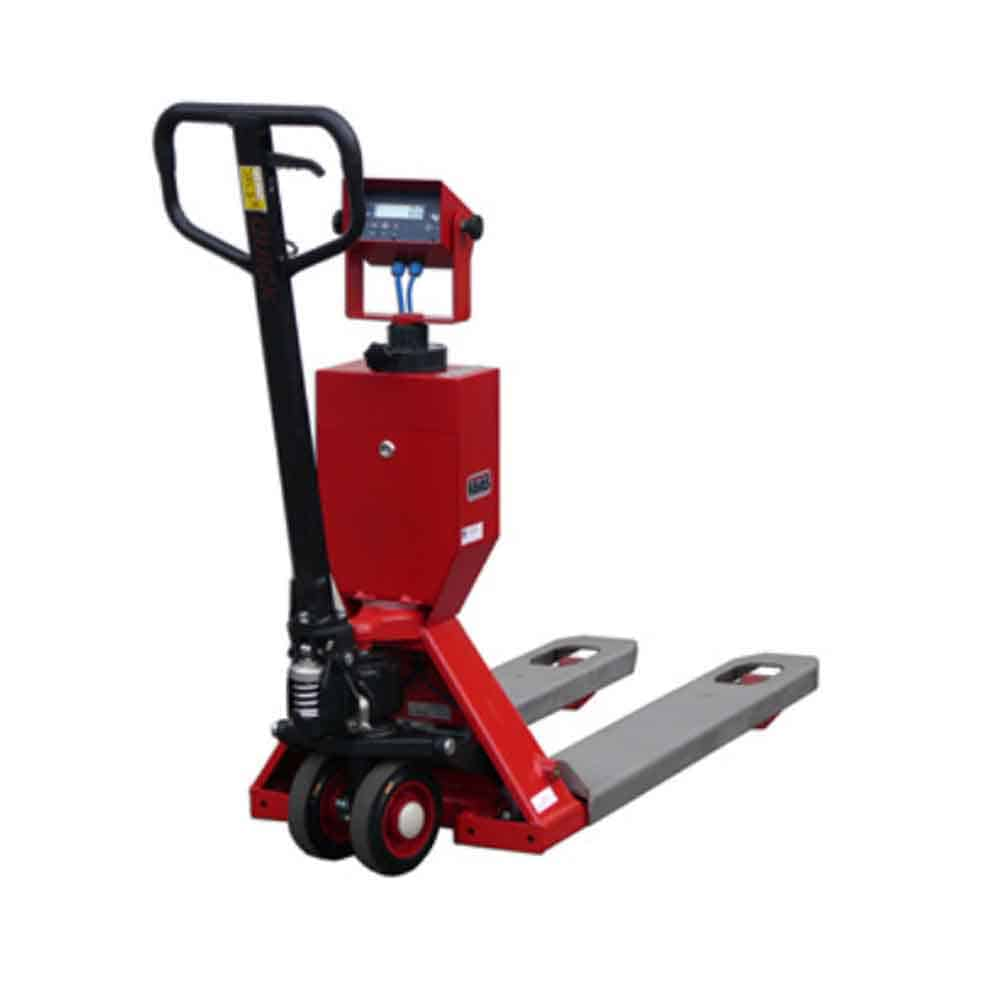 Ravas 2100 Exi Explosive Environment Weighing Hand pallet truck