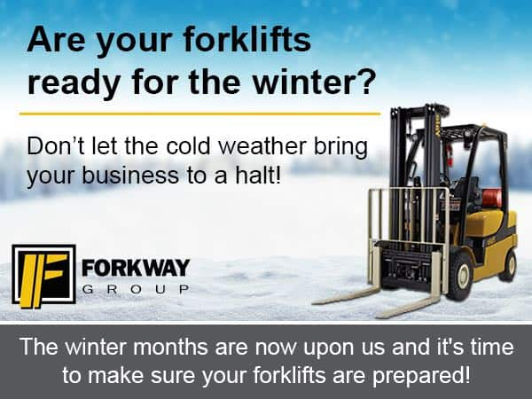 Top tips for your forklifts this winter