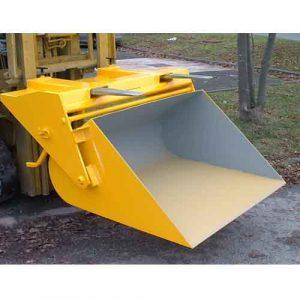 Easyfill Scoop Forklift Attachment
