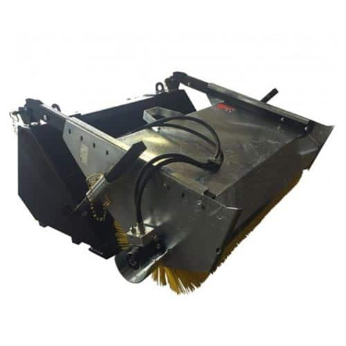 Telehandler Bucket Brush Attachment