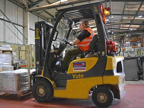 Yale Forklift Truck Solent Case Study