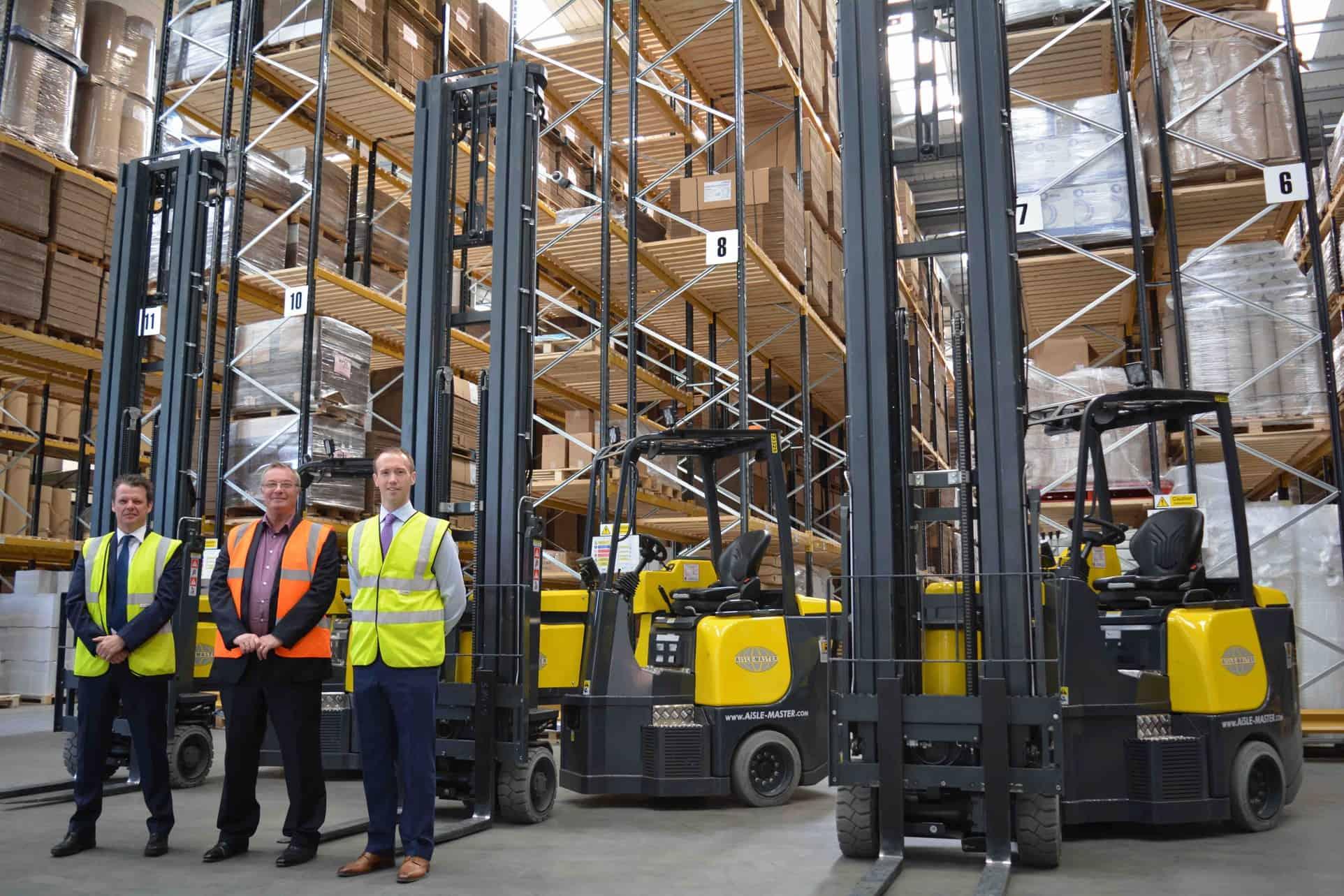 Forklifts in Dewsbury