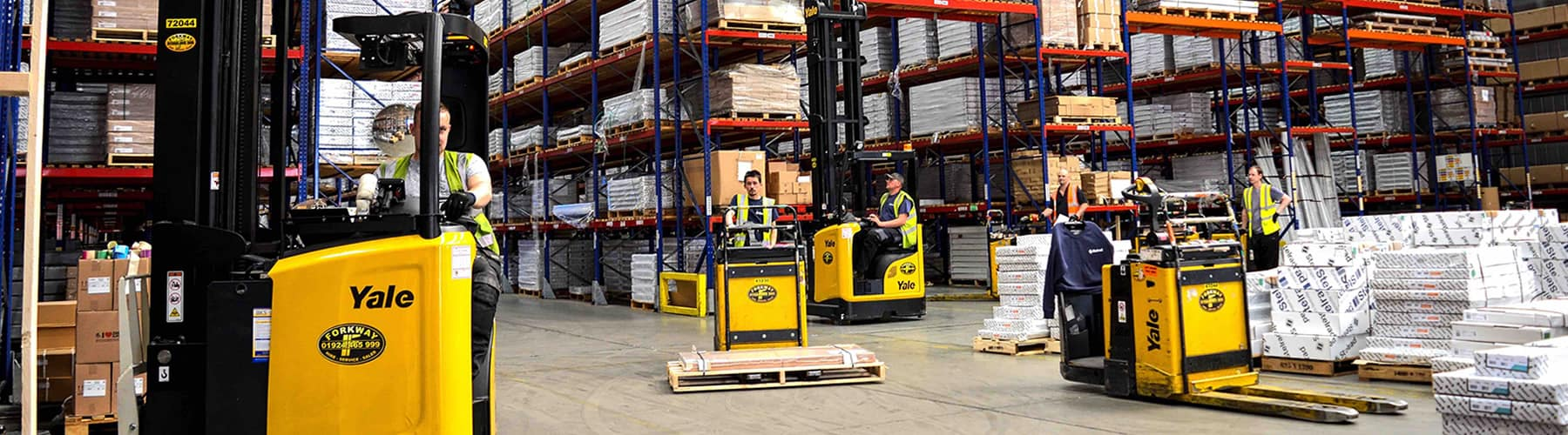 Forklifts in South Yorkshire